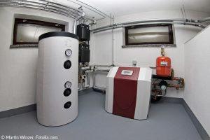 Wärmepumpe im Keller installieren